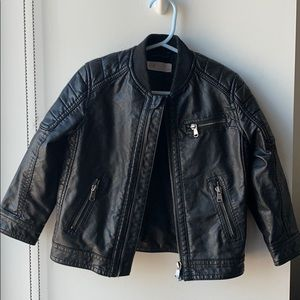 H&M Jackets & Coats - Toddler Faux Leather Jacket (3-4yrs)